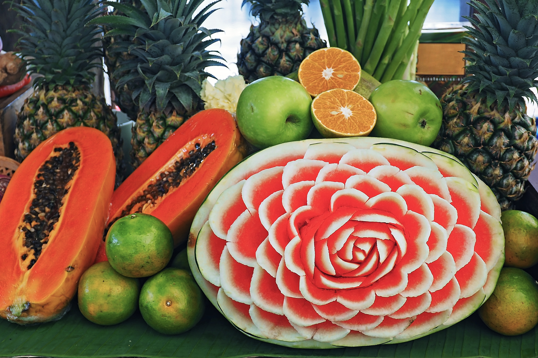 What Is Thai Fruit And Vegetable Carving Thaicarving Co Uk